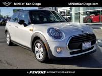 This 2018 MINI Cooper 4dr Base features a 1.5L 3