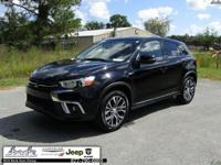 CARFAX One-Owner. Clean CARFAX. Black 2018 Mitsubishi
