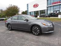 CARFAX One-Owner. Gun Metallic 2018 4D Sedan Nissan