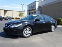 New Price! Clean CARFAX. Super Black 2018 Nissan Altima