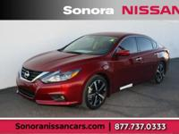 Scarlet 2018 Nissan Altima 2.5 SR FWD CVT with Xtronic