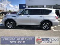 What a beautiful 2018 Nissan Armada! A perfect mix of