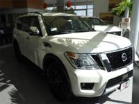2018 Nissan Armada Platinum 4WD. BETTER SELECTION!