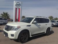 Clean CARFAX. Certified. White 2018 Nissan Armada