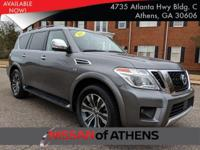 Come see this 2018 Nissan Armada SL. Its Automatic