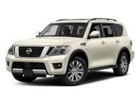 This 2018 Nissan Armada 4dr 4x4 SL features a 5.6L 8