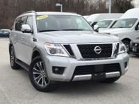 2018 Nissan Armada SL Brilliant Silver Rear Back Up