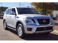 Brilliant Silver 2018 Nissan Armada SV RWD 7-Speed