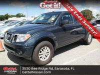 New Arrival! This 2018 Nissan Frontier SV V6, has a
