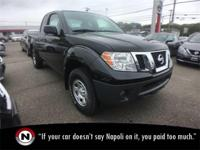 Magnetic Black 2018 Nissan Frontier S RWD Automatic