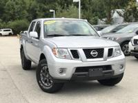 2018 Nissan Frontier PRO Silver  Clean CARFAX. FOR MORE