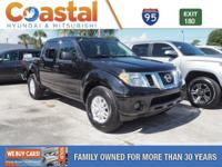This 2018 Nissan Frontier SV in Magnetic Black
