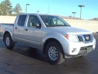 Silver 2018 Nissan Frontier SV 4WD 5-Speed Automatic