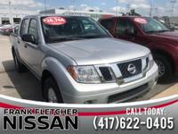 Recent Arrival! Brilliant Silver 2018 Nissan Frontier