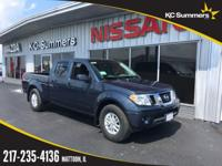 Arctic Blue 2018 Nissan Frontier SV RWD Automatic V6
