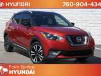 CARFAX One-Owner. Clean CARFAX. Cayenne Red 2018 Nissan