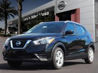 This Super Black 2018 Nissan Kicks S might be just the