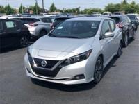 Brilliant Silver 2018 Nissan Leaf SV FWD Single Speed