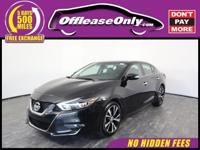 Options:  2018 Nissan Maxima 3.5 Sv Fwd|Super