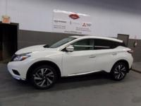 Pearl White 2018 Nissan Murano Platinum AWD CVT with