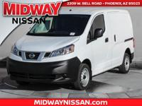 2018 Nissan NV200 S 26/24 Highway/City MPG  Options:  2