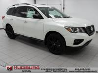 Pearl White 2018 Nissan Pathfinder SL FWD CVT with