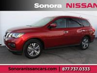 Scarlet 2018 Nissan Pathfinder SV FWD CVT with Xtronic