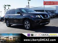 CARFAX One-Owner. Clean CARFAX. Black 2018 Nissan