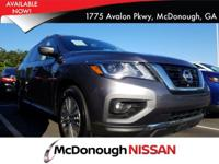 Come see this 2018 Nissan Pathfinder SV. Its Variable