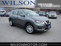 Gun Metallic 2018 Nissan Rogue S AWD CVT with Xtronic