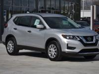 Brilliant Silver 2018 Nissan Rogue S 2.5L 4-Cylinder