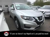 Brilliant Silver Metallic 2018 Nissan Rogue S AWD