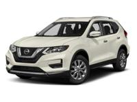 Clean CARFAX. 2018 Nissan Rogue S FWD CVT with Xtronic