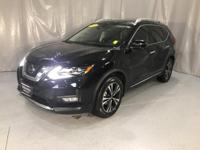 Magnetic Black 2018 Nissan Rogue SL FWD CVT with