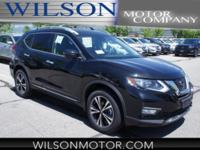 Magnetic Black 2018 Nissan Rogue SL AWD CVT with