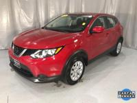 Ruby 2018 Nissan Rogue Sport S FWD CVT with Xtronic