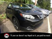 Magnetic Black 2018 Nissan Rogue Sport SL AWD Automatic