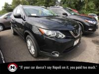Magnetic Black 2018 Nissan Rogue Sport SV AWD Automatic