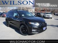 Magnetic Black 2018 Nissan Rogue SV AWD CVT with