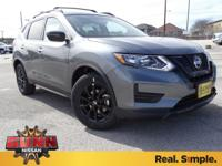 2018 Nissan Rogue SV 33/26 Highway/City MPG With an