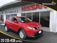 Ruby 2018 Nissan Rogue Sport SV FWD CVT with Xtronic