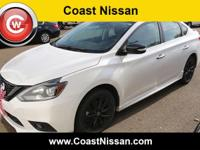 2018 Nissan Sentra SR FWD CVT with Xtronic 1.6L I4
