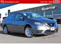 2018 Nissan Sentra S CVT, Charcoal Cloth. BETTER