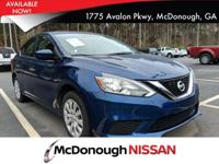 Come see this 2018 Nissan Sentra S. Its Variable