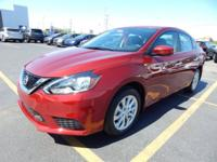 Clean CARFAX. Certified. Scarlet 2018 Nissan Sentra SV