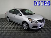 2018 Nissan Versa 1.6 SV Highlights Include.... 39/31
