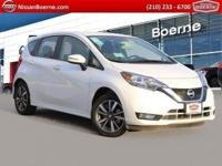 2018 Nissan Versa Note SR 39/31 Highway/City MPG BETTER