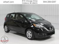 Options:  2018 Nissan Versa Note Sv|Super