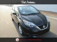 2018 Nissan Versa Note S Super Black With Available