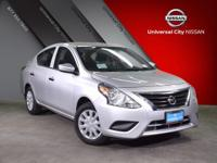 Embrace change with the 2018 Nissan Versa Sedan. Its